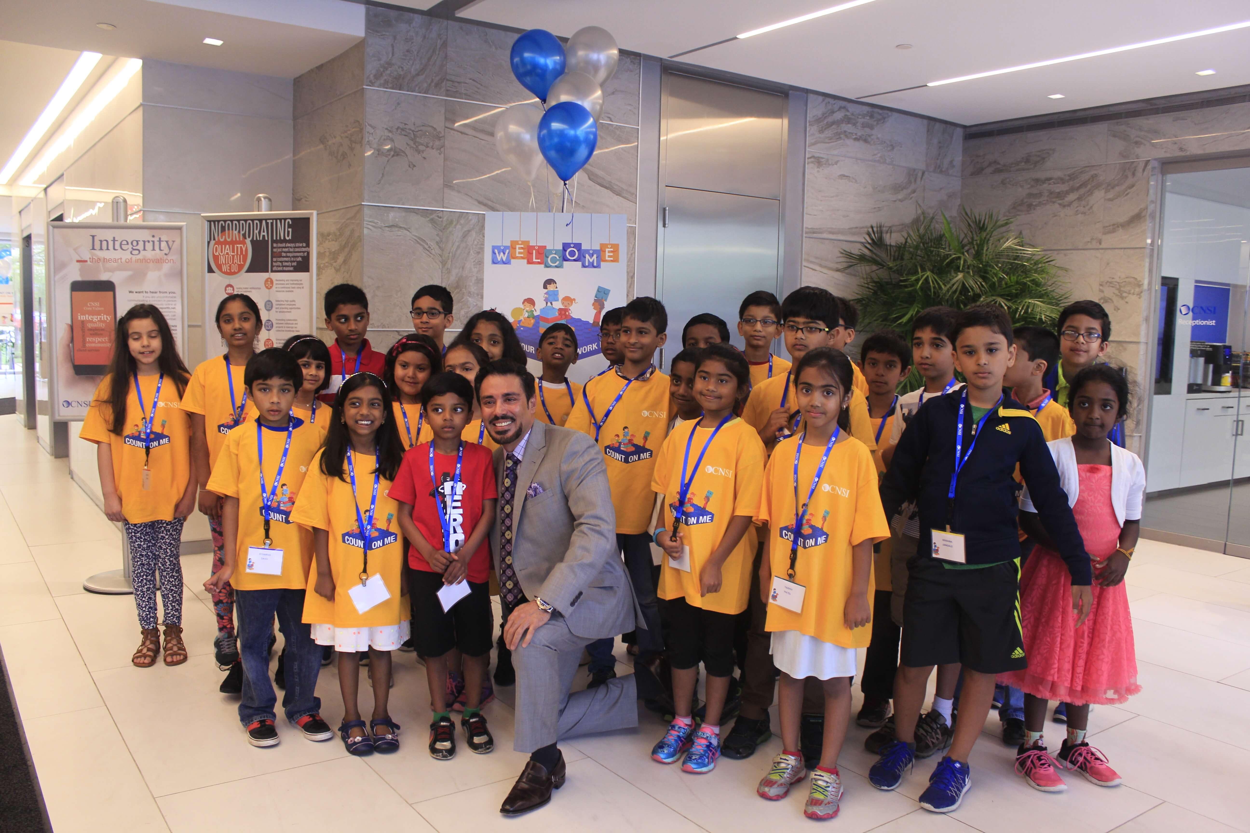 CNSI Counts on Kids Day