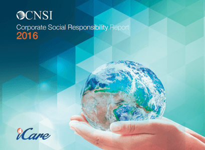 CNSI 2016 Corporate Social Responsibility Report