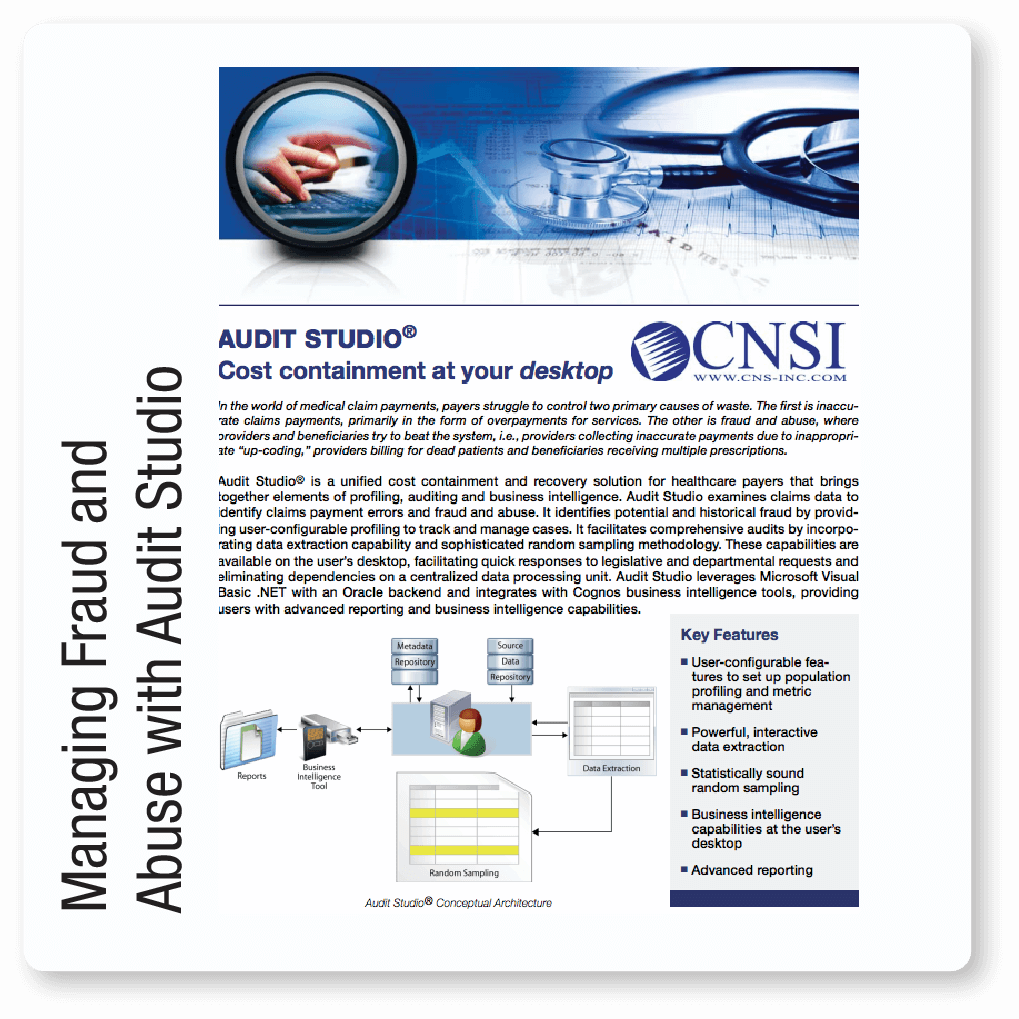 Managing Fraud and Abuse with Audit Studio