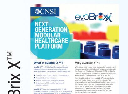 evoBrix X™: Next Generation Modular Healthcare Platform