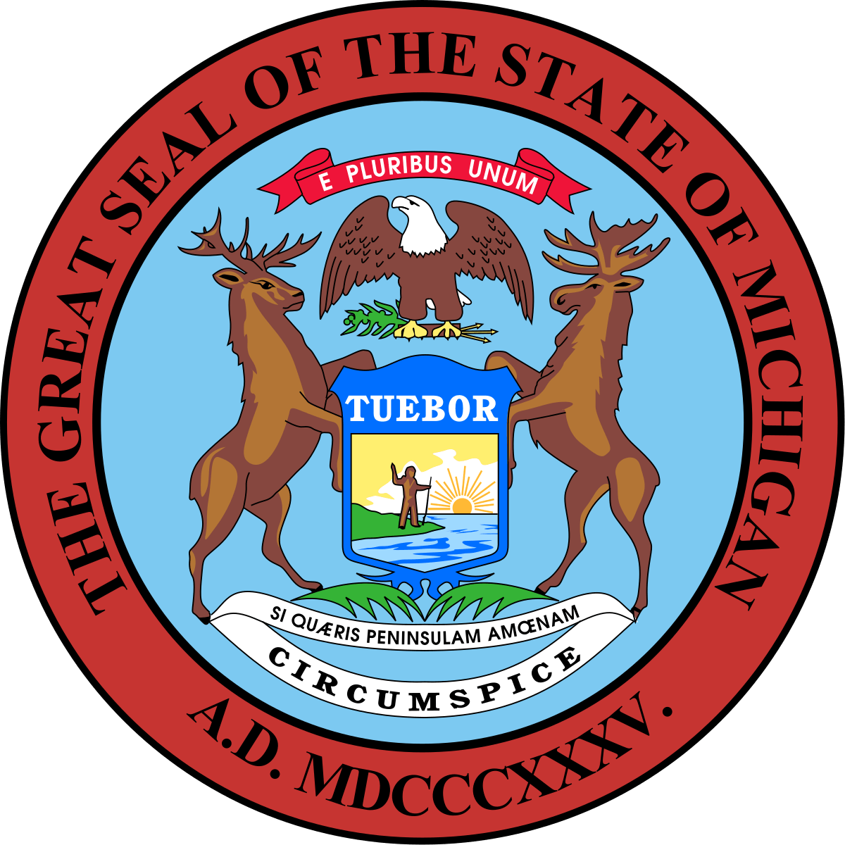 Management and Budget Director, Department of Technology, State of Michigan Logo