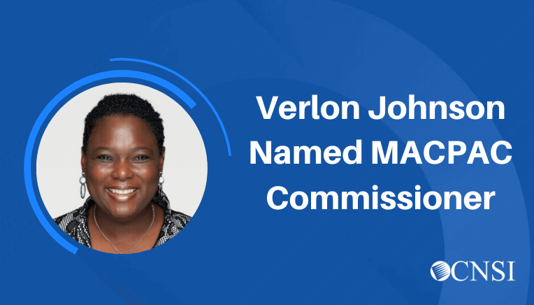 CNSI's Verlon JohnsonAppointed bytheU.S. Government Accountability Office to aThree-yearTermasaCommissioner to theMedicaid and CHIP Payment and AccessCommission